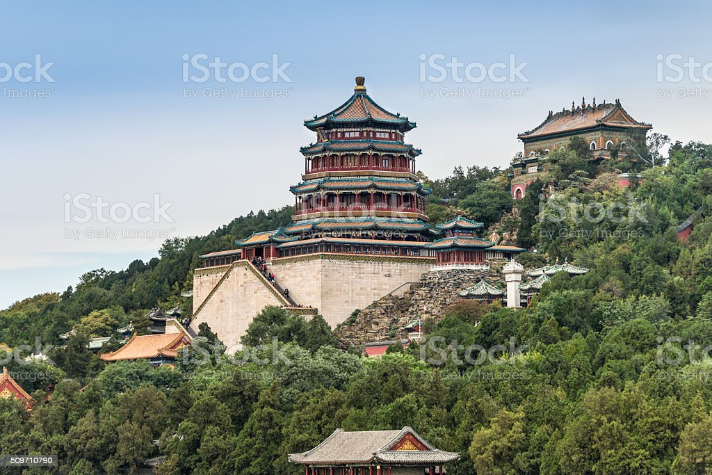The Summer Palace, Beijing, China stock photo