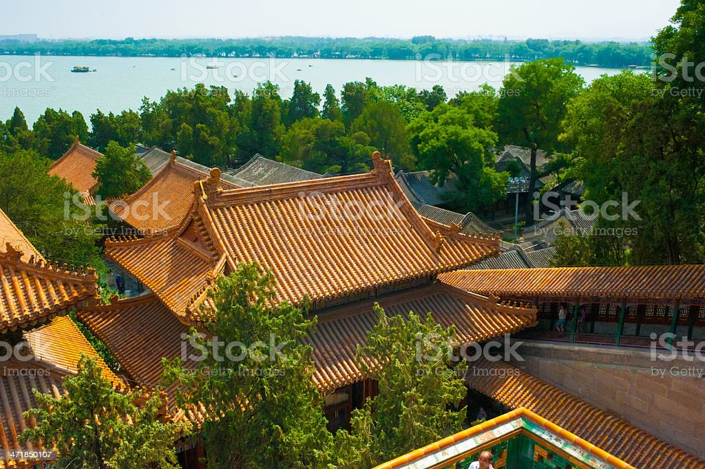 the Summer Palace royalty-free stock photo