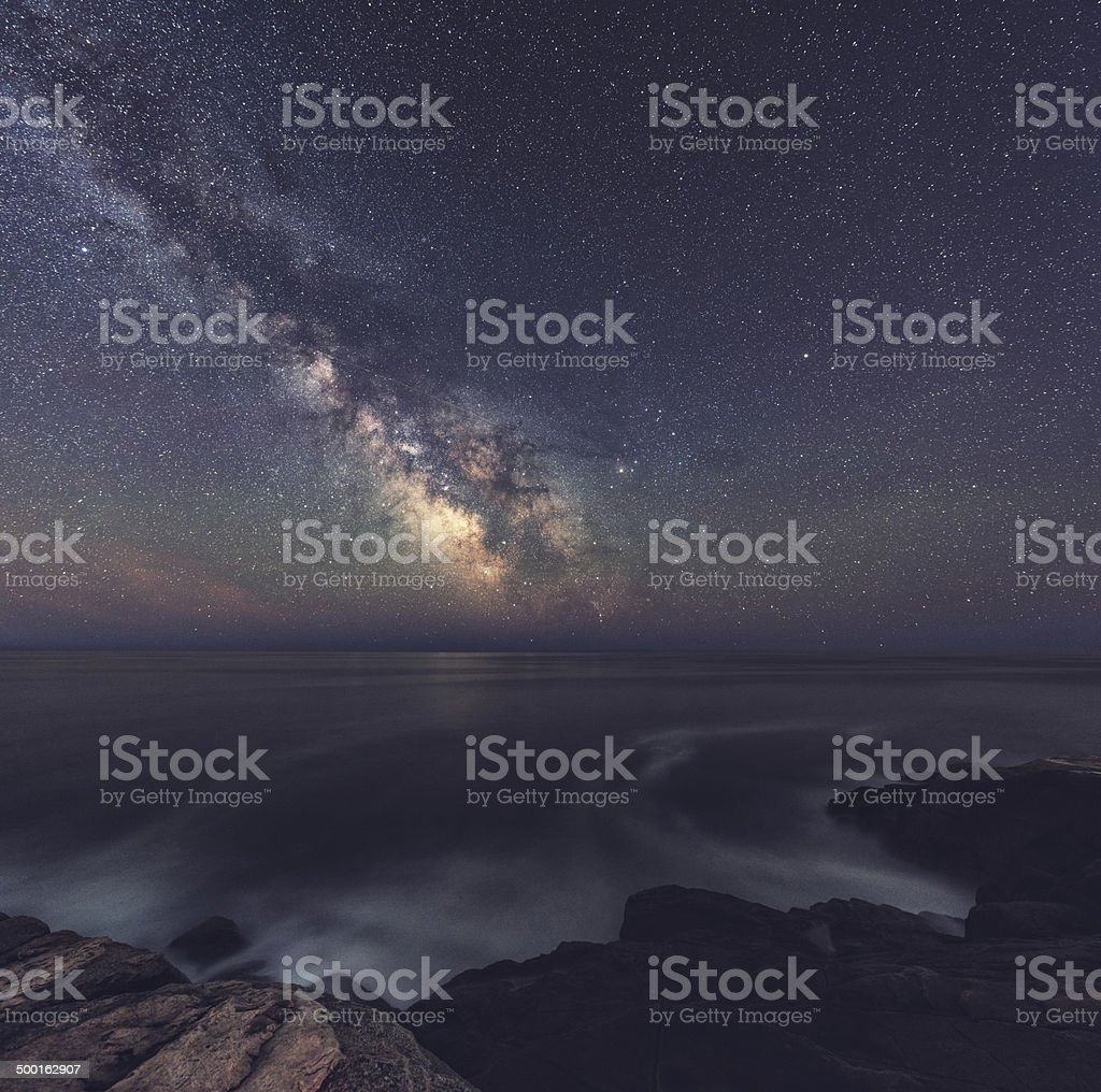 The Summer Skies stock photo