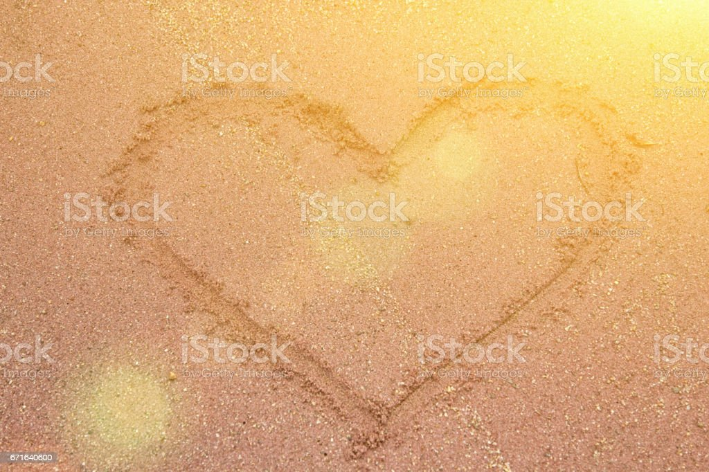 the sun and the heart of it stock photo