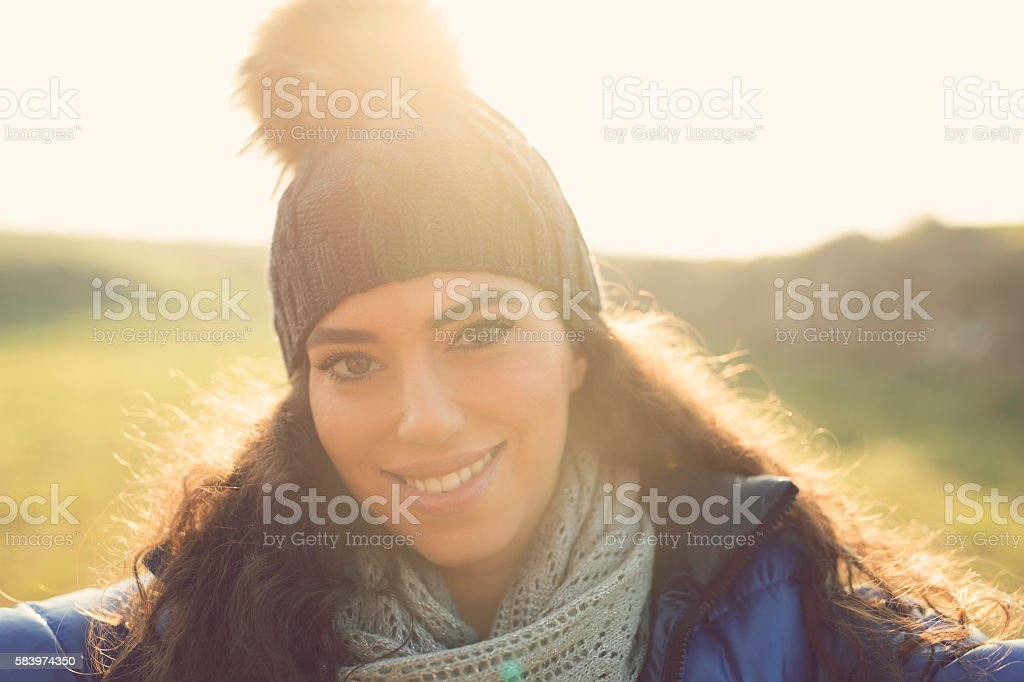 The sun is always with me stock photo