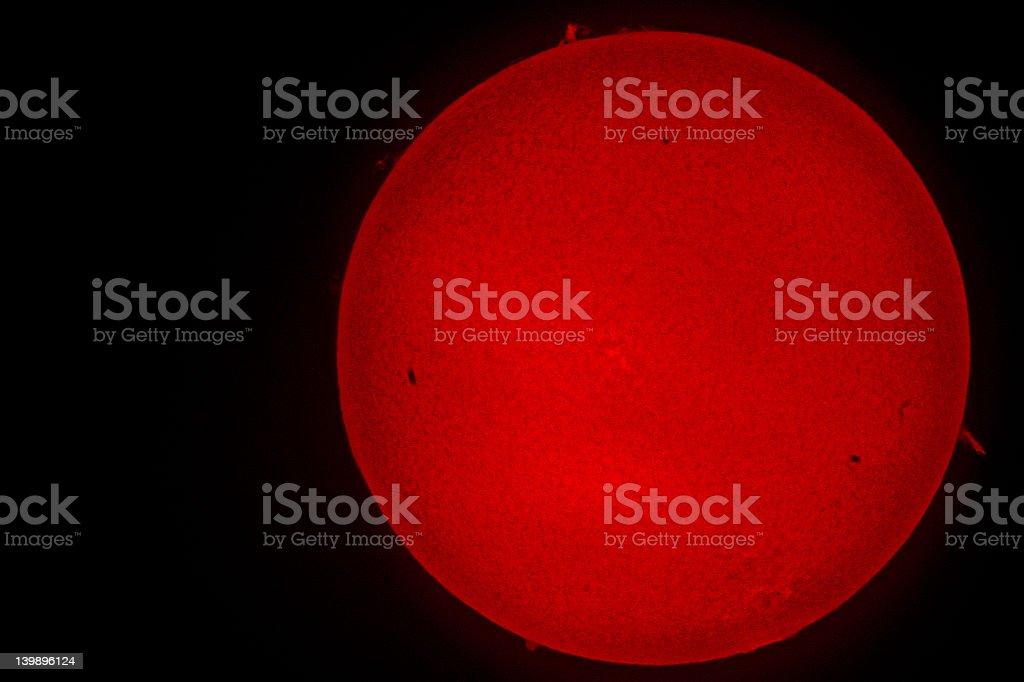 the sun royalty-free stock photo