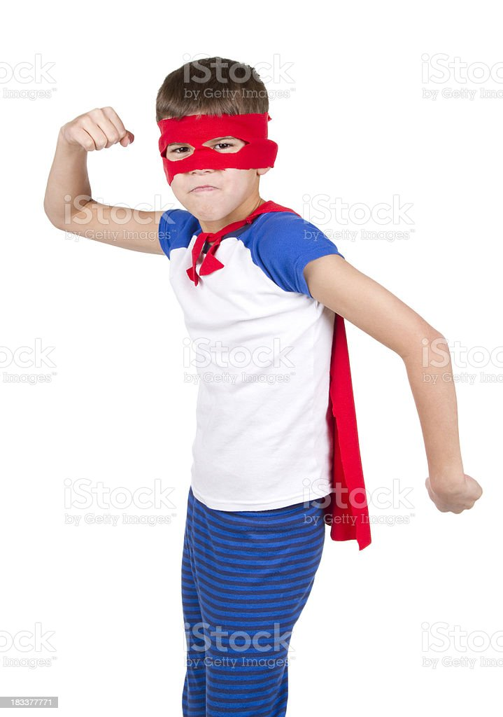 The Super Hero royalty-free stock photo