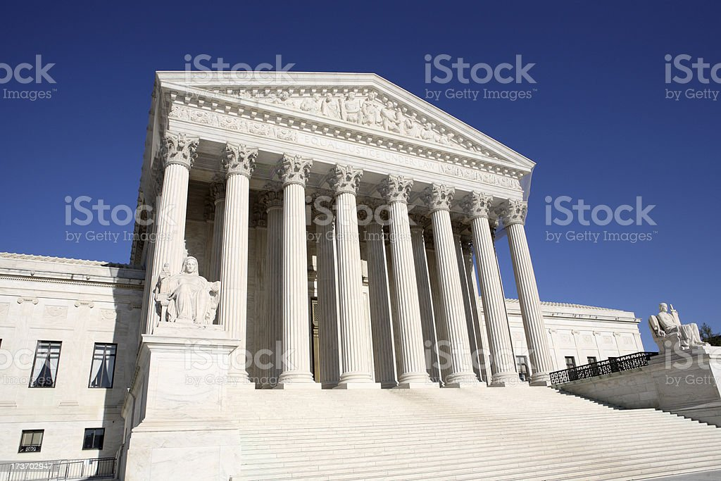 The Supreme Court royalty-free stock photo