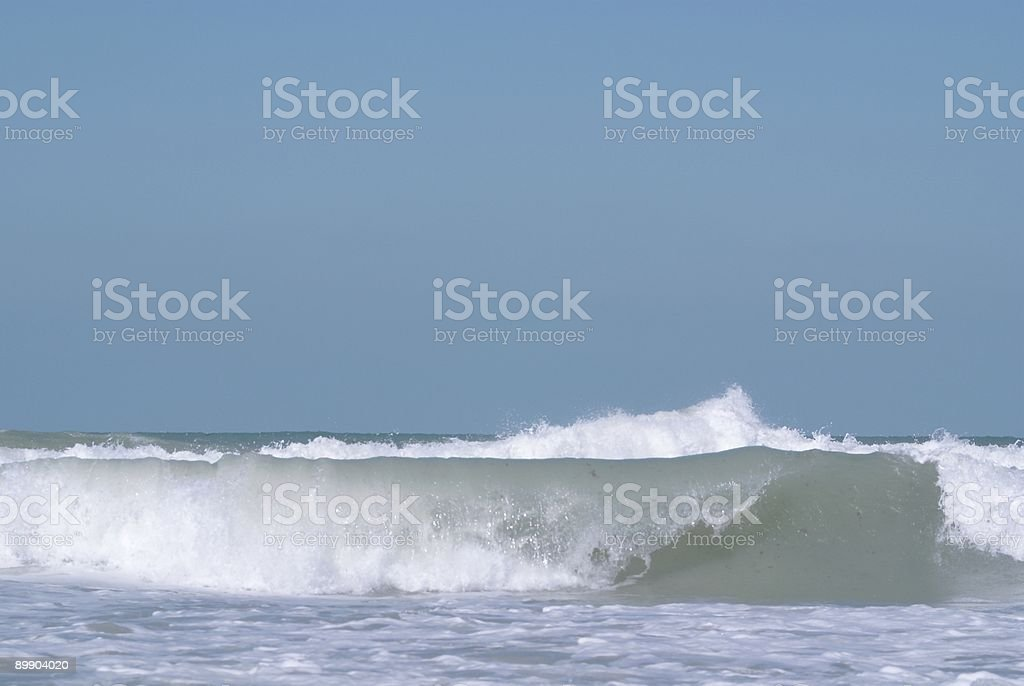 The Surf royalty-free stock photo