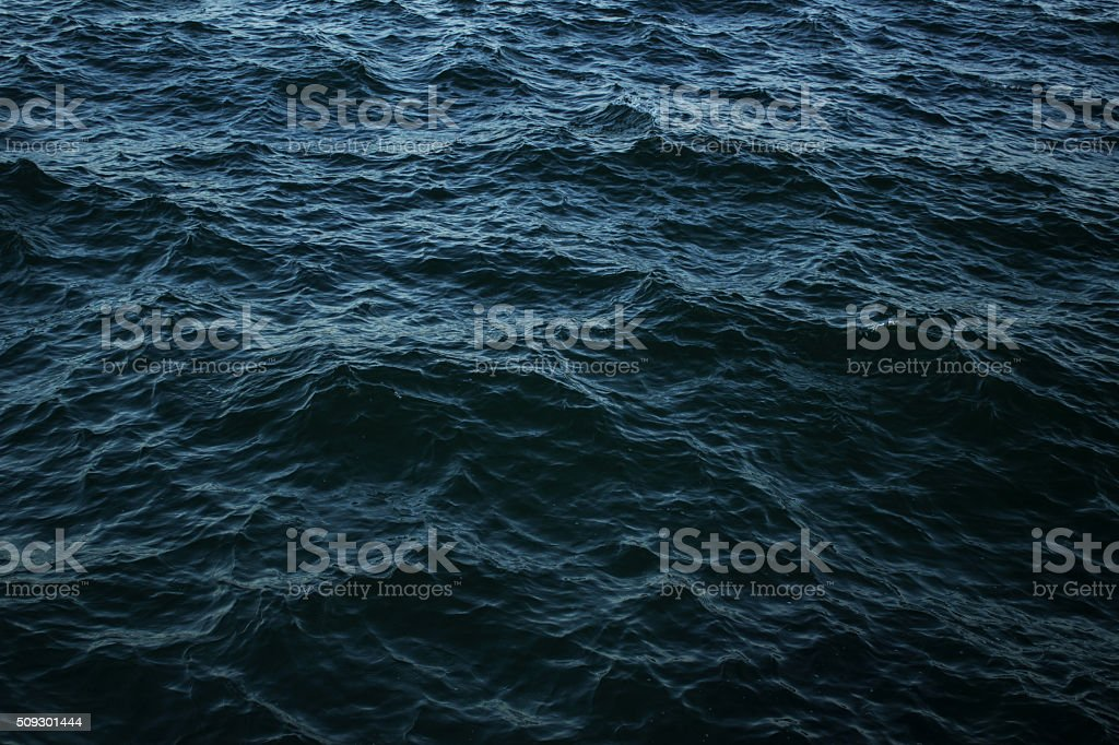 The surface of the Black sea (background) stock photo