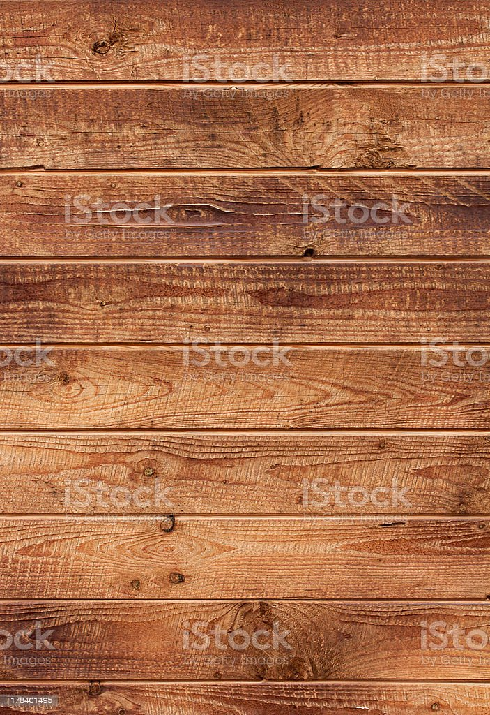 The surface of wooden planks royalty-free stock photo