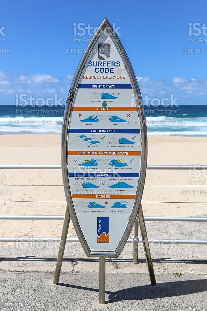 The Surfers code stock photo