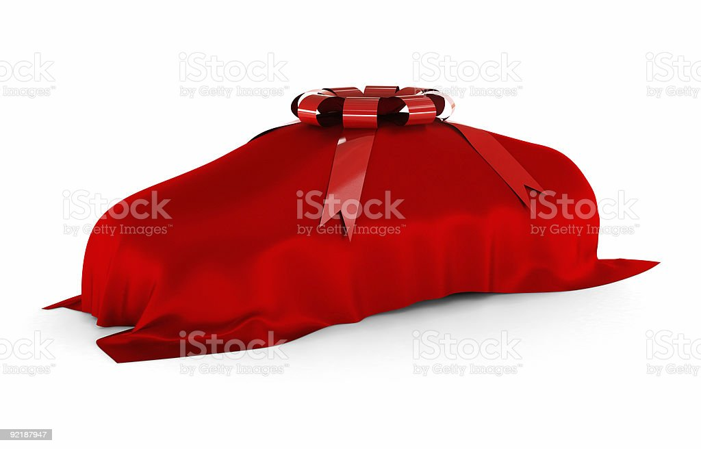 The surprise of your dream car royalty-free stock photo