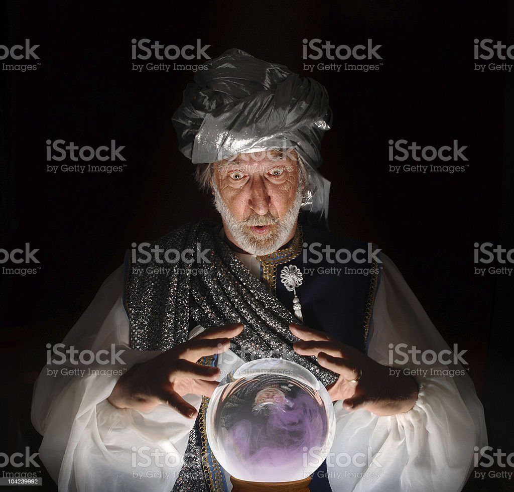 The Swami royalty-free stock photo