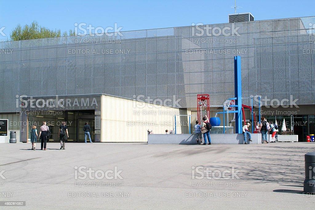 The Swiss Science Center Technorama at Winterthur, Switzerland stock photo