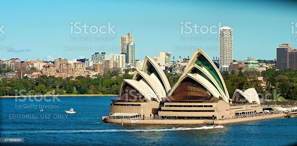 The Sydney Opera House view royalty-free stock photo