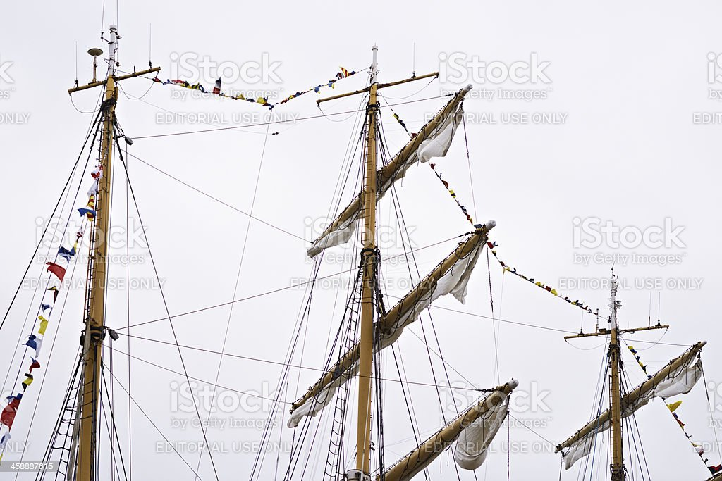 The Tall Ships Races 2013 royalty-free stock photo