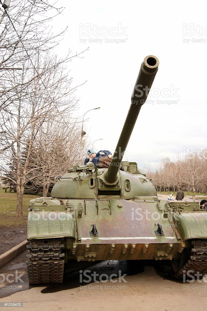 The Tank royalty-free stock photo