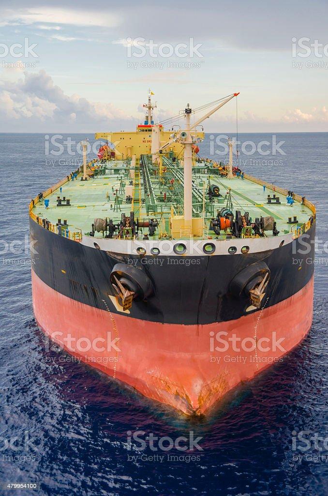 The tanker stock photo