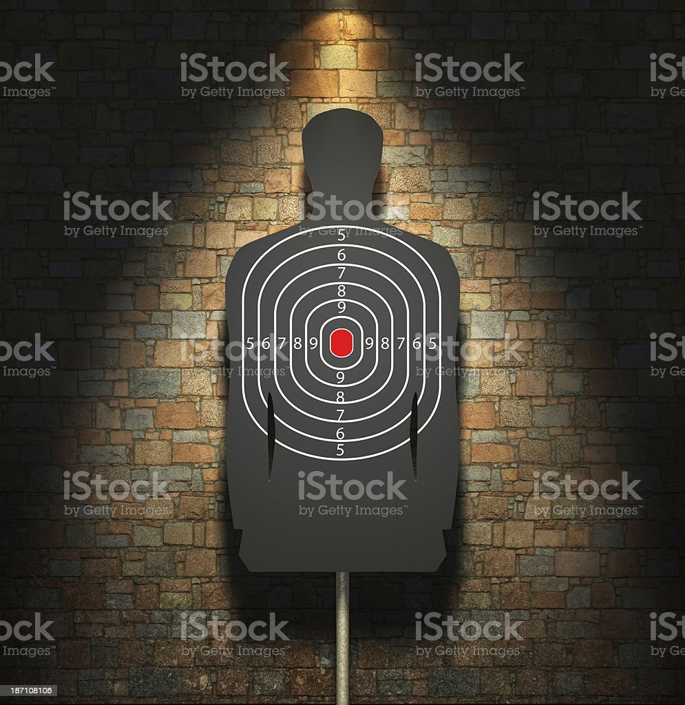 The target stock photo