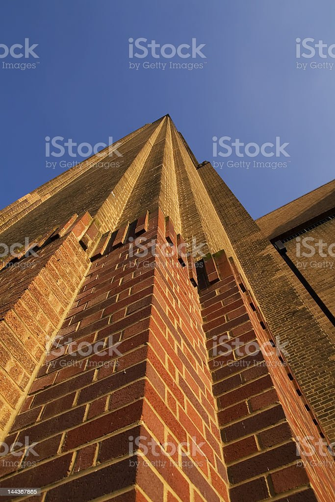 The Tate Modern on a sunny day royalty-free stock photo