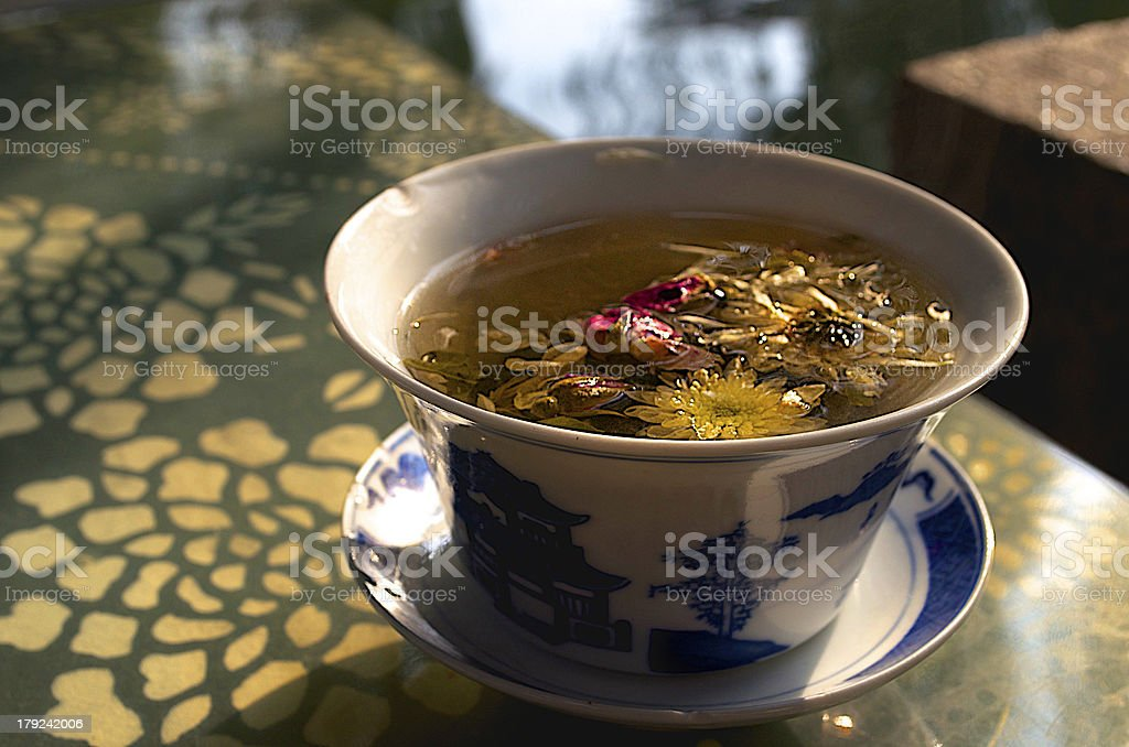 The Tea Bouquet royalty-free stock photo