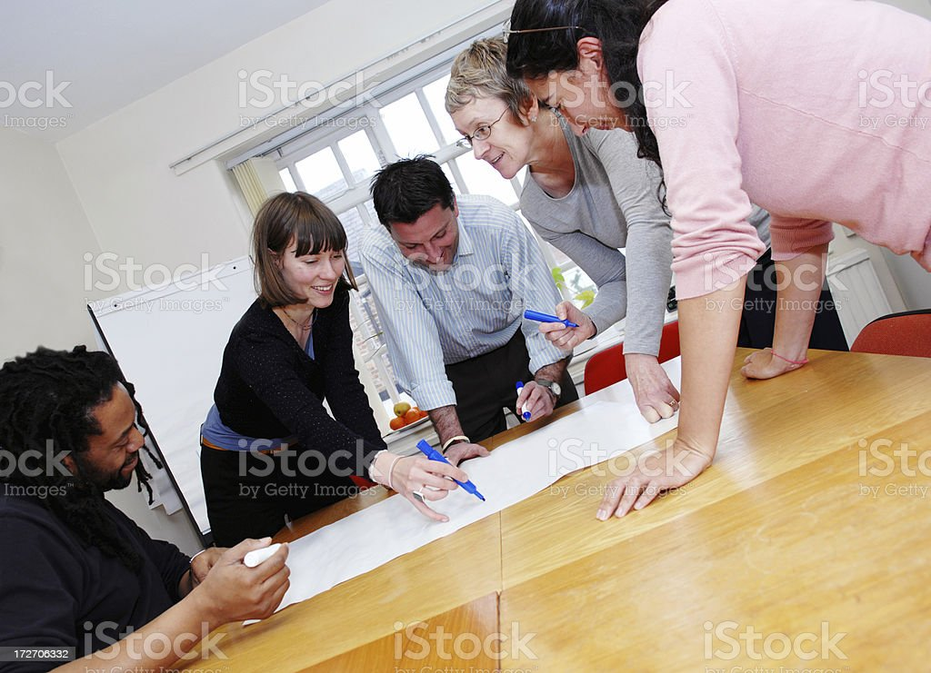 The Team royalty-free stock photo