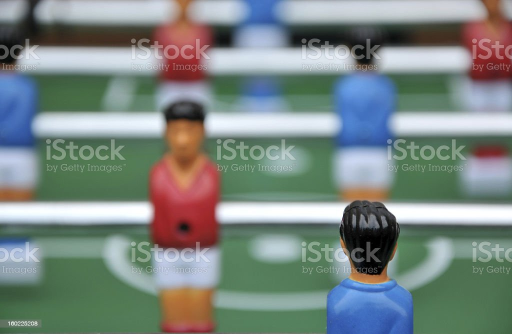 The Team Player royalty-free stock photo