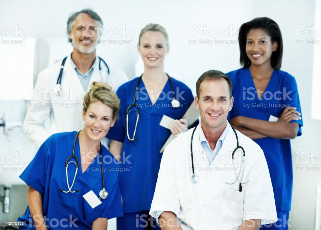 The team you can trust royalty-free stock photo