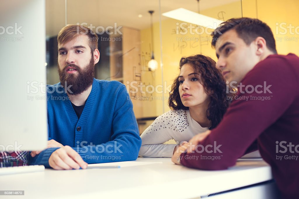 The team you can trust to get the job done stock photo