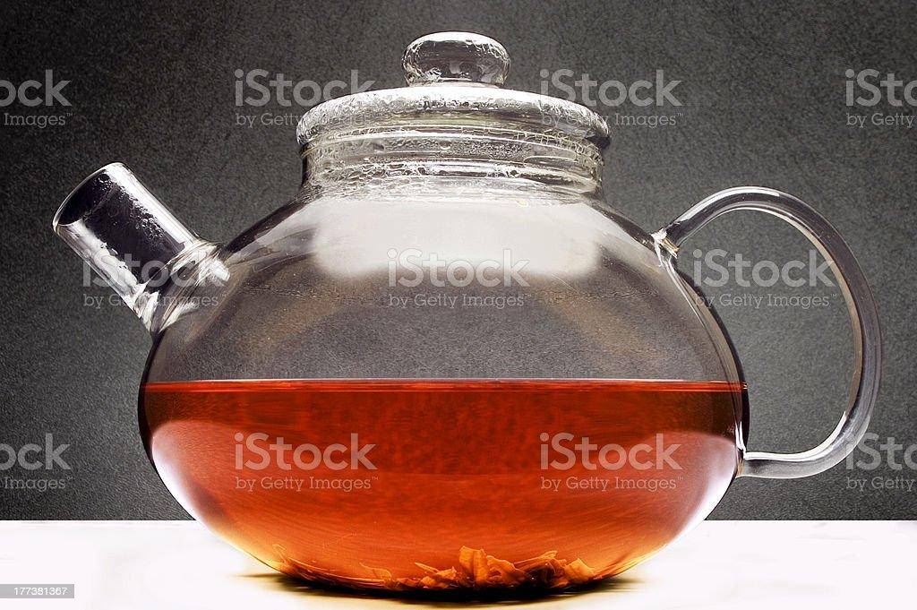 the teapot royalty-free stock photo