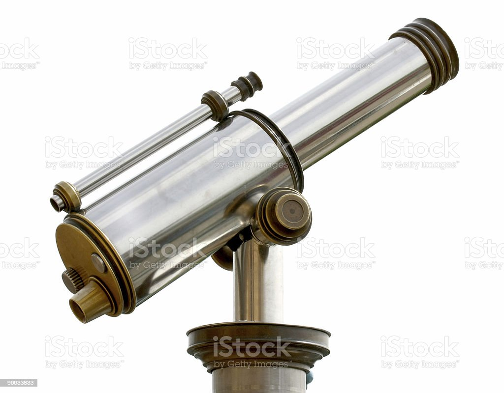 The Telescope royalty-free stock photo