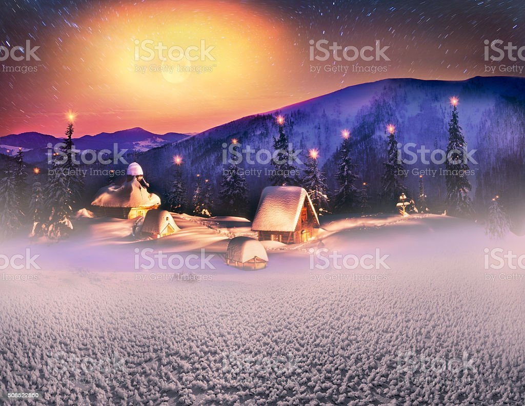 The temple in the tract Rogneska stock photo