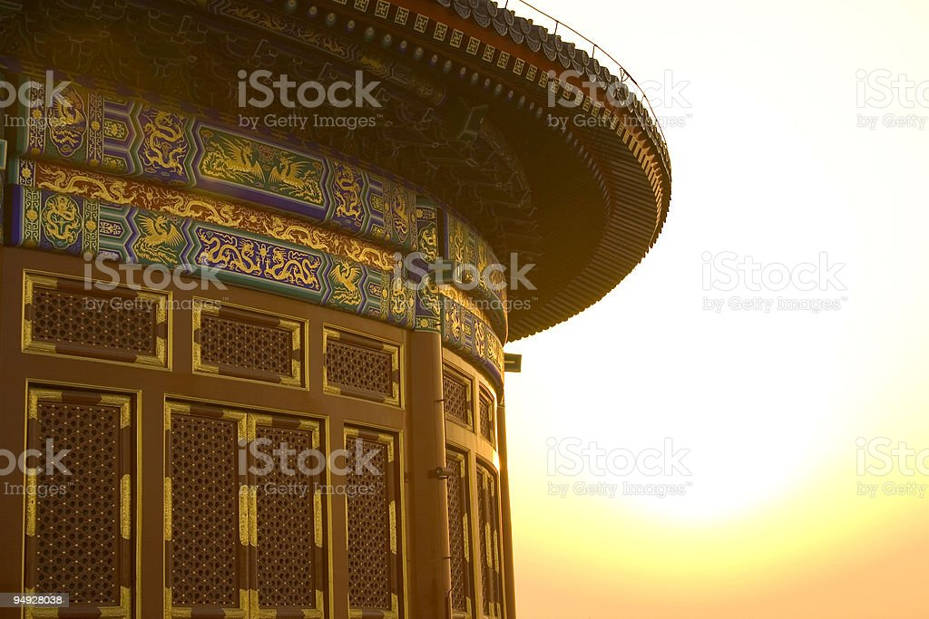 The Temple of Heaven II royalty-free stock photo