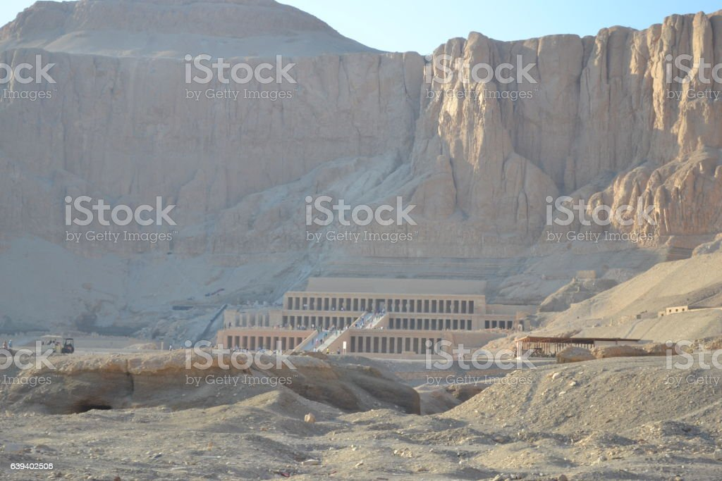 The Temple of Nefertari. Egypt stock photo