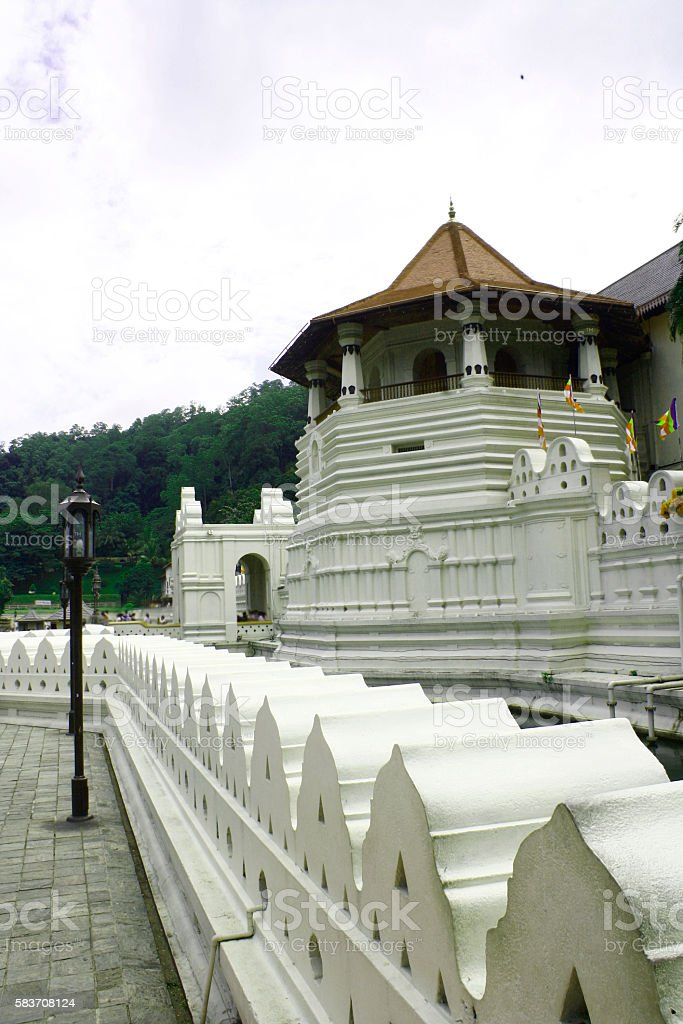 The Temple of Tooth Relic stock photo