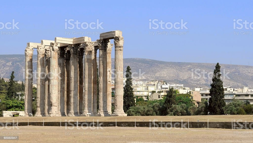 the temple royalty-free stock photo