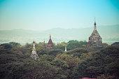 The Temples of Bagan, Mandalay, Myanmar