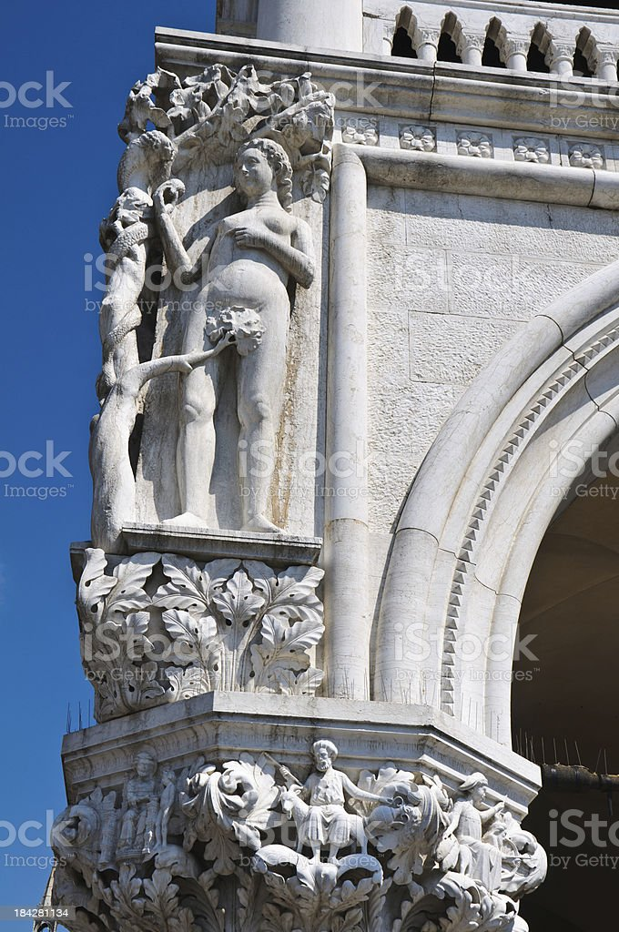 The Temptation of Eve royalty-free stock photo
