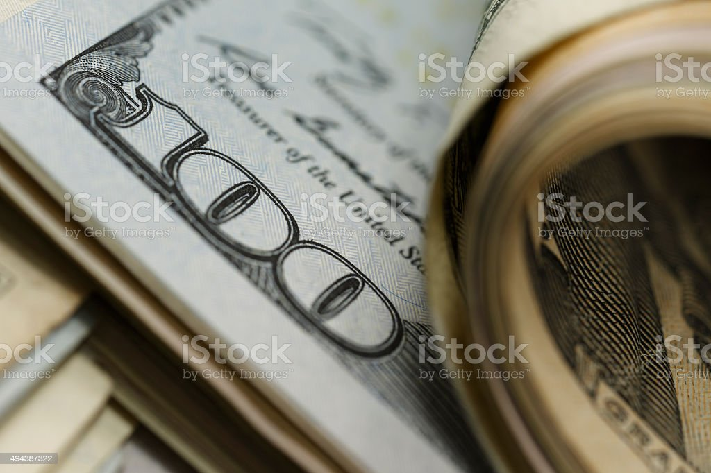 The temptation of money stock photo