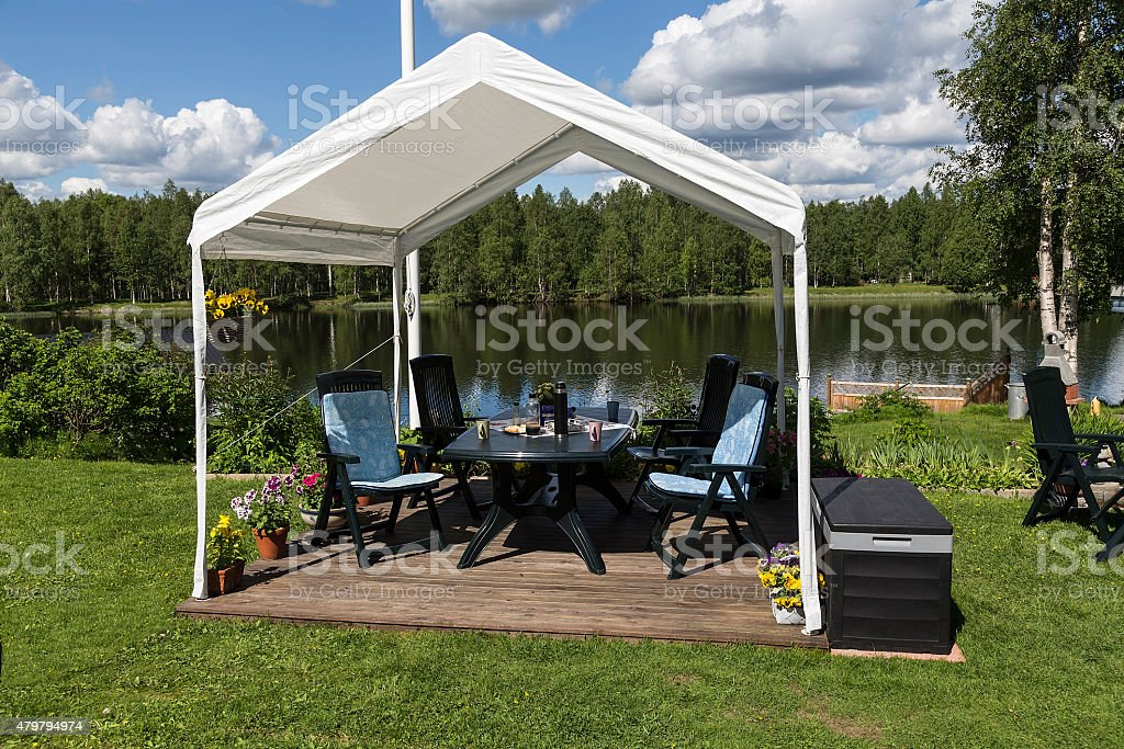 The tent royalty-free stock photo