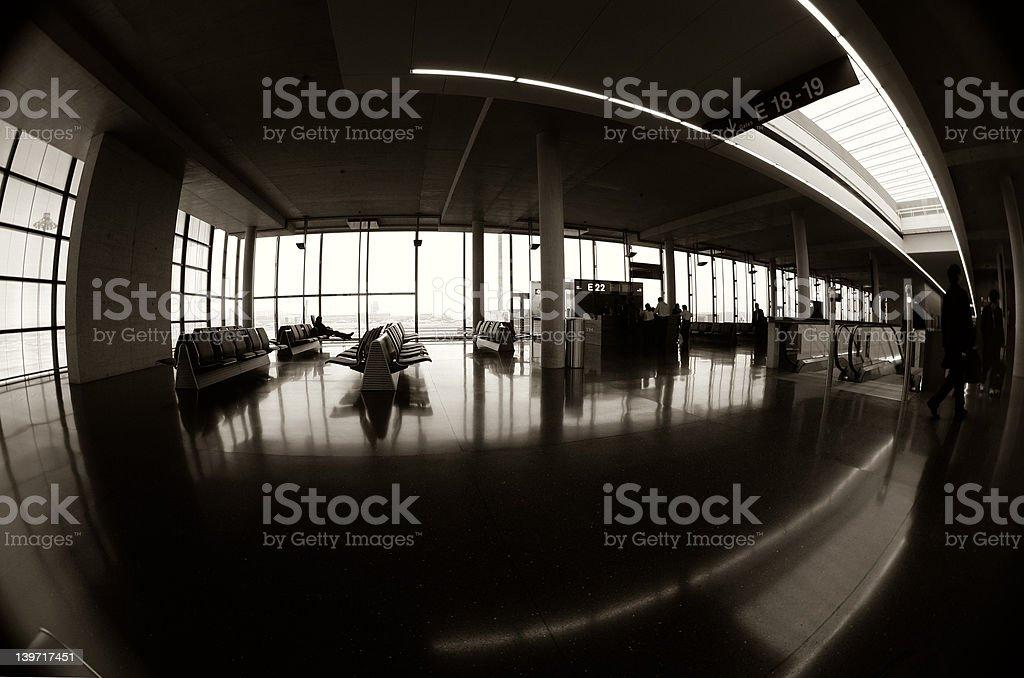 The Terminal 1 royalty-free stock photo