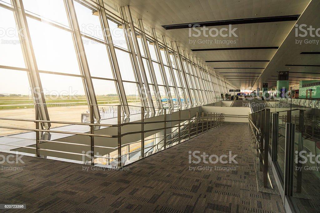 The Terminal Gate stock photo