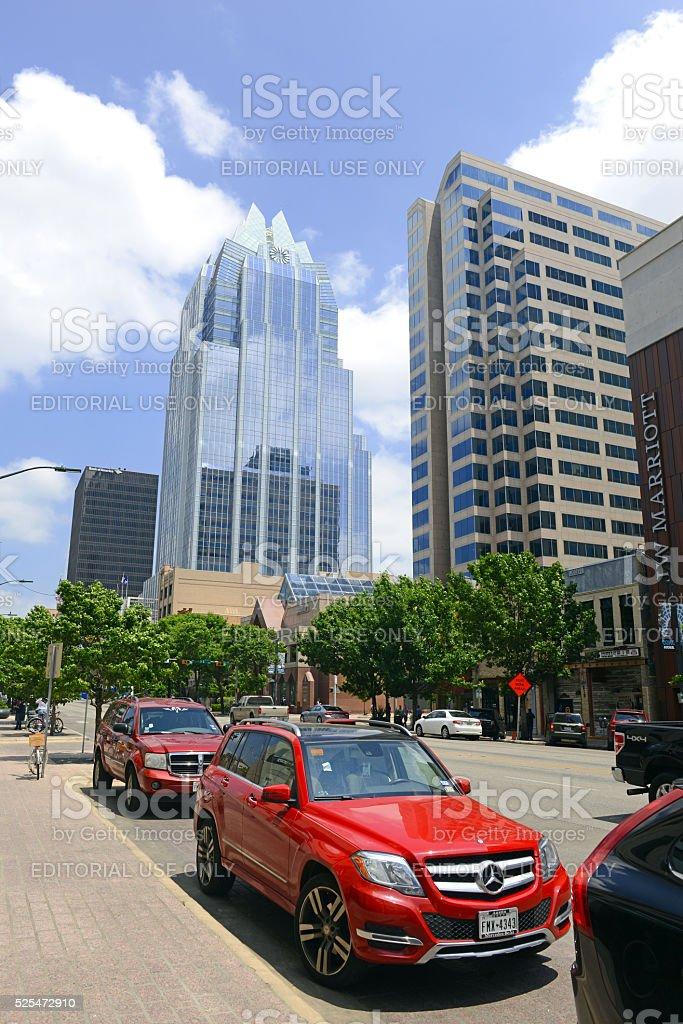 the Texan capital city of Austin stock photo