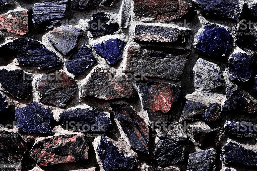 The texture in the form of a wall of  quartz stock photo
