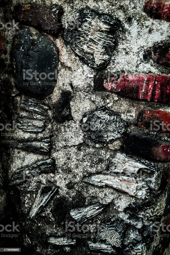the texture of the brick stock photo