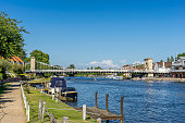 The Thames river walk at Marlow