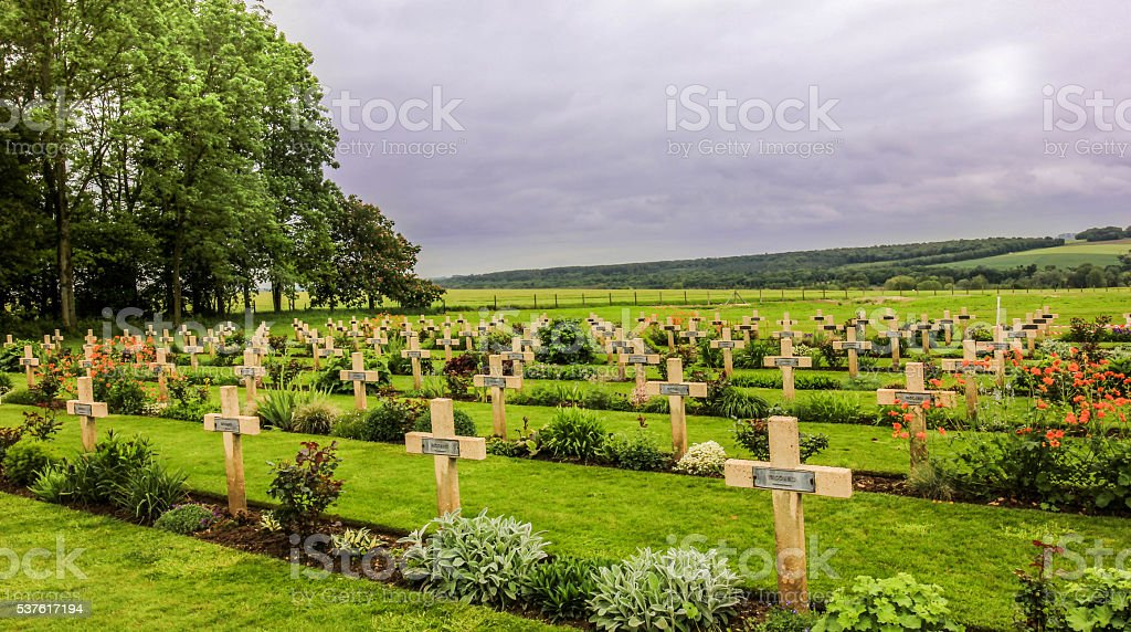The Thiepval Memorial stock photo