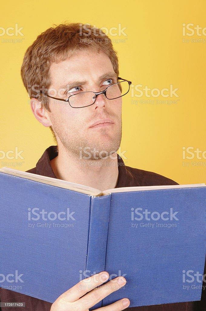 The Thinker II stock photo