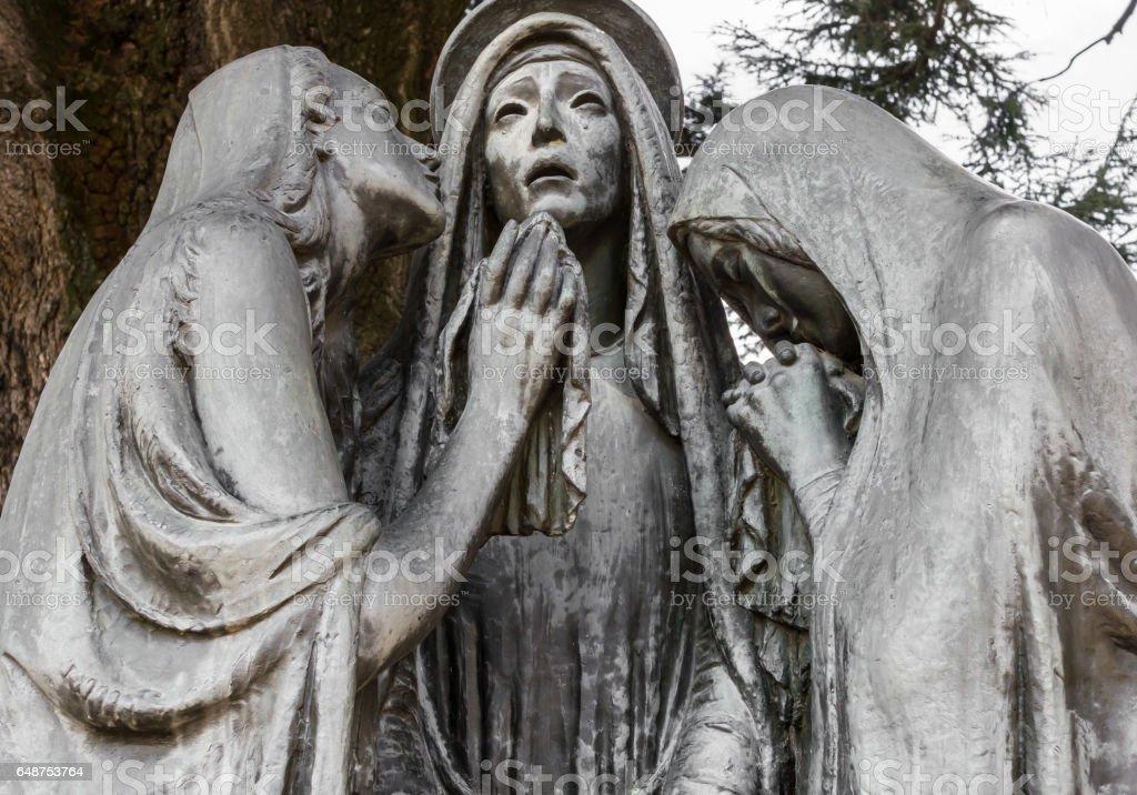 The Three Marys stock photo