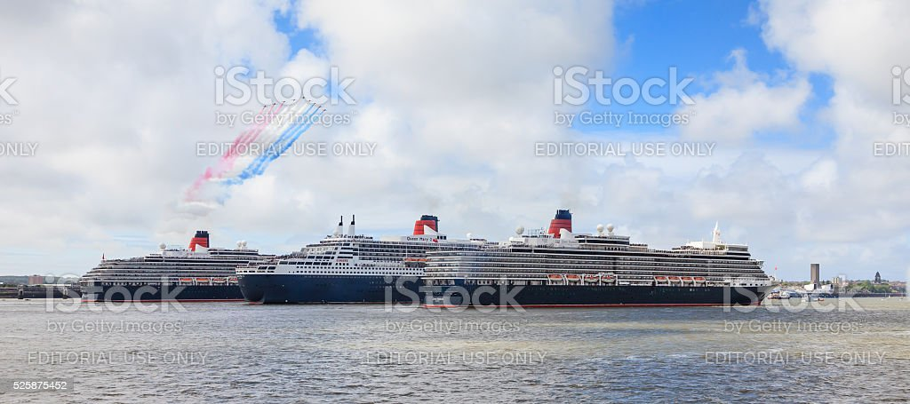 The Three Queens stock photo