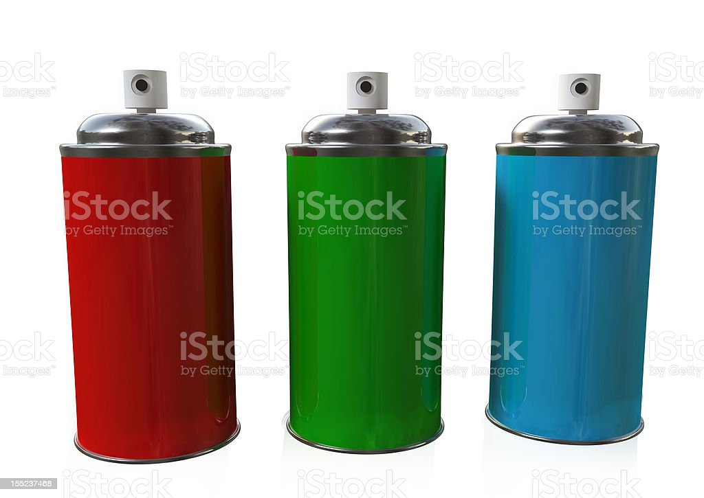 The Three Sprays royalty-free stock photo