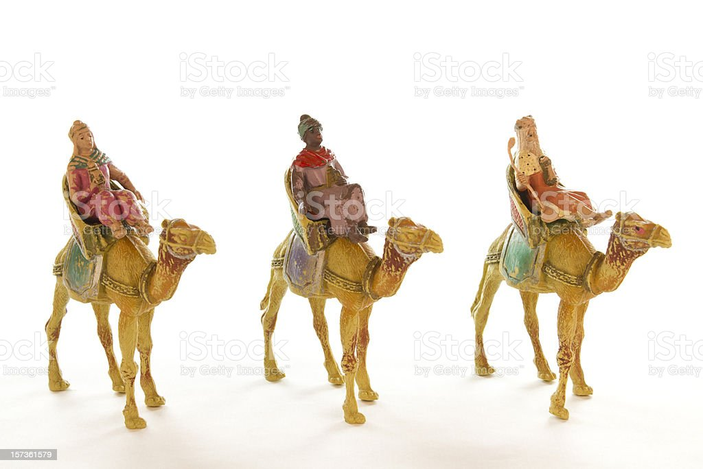 The three wise men royalty-free stock photo