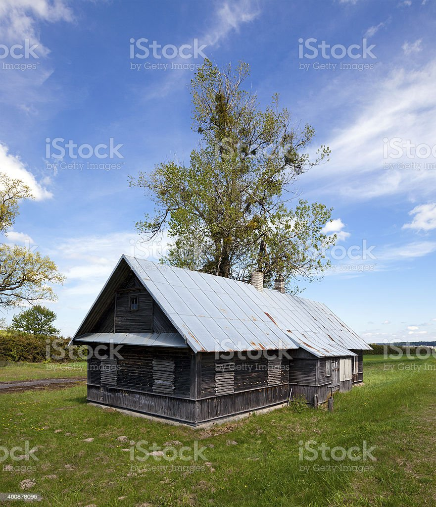 the thrown house royalty-free stock photo